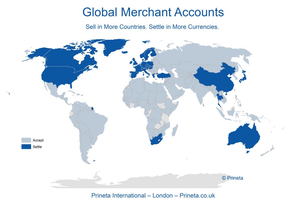 Prineta-International-Global-Merchant-Account-Map